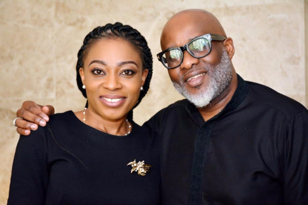 Hosts of The Symposium- MD/CEO, Novo Health Africa, Dr Dorothy Jeff-Nnamani and Founder of the OLCA, Lanre Olusola (The Catalyst)