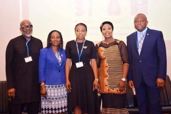 L -R Lanre Olusola (The Catalyst), Funmi Oyetunji, Dr Dorothy Jeff-Nnamani, Dr Maymuna Kadiri,  Nnamdi J. Okonkwo