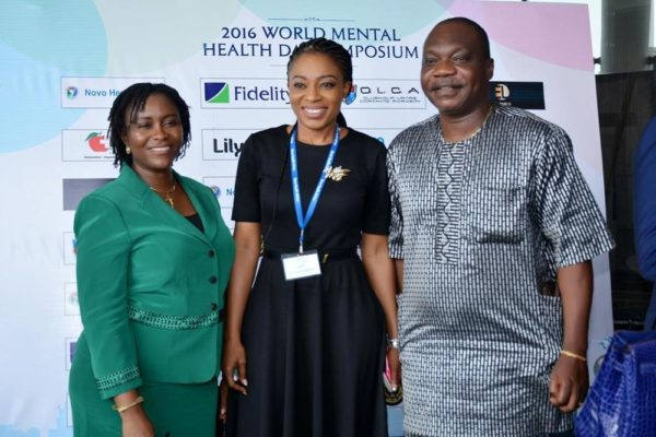 Dr Dorothy Jeff-Nnamani with Director of Public Health, Federal Ministry of Health, Dr Evelyn Ngige (Representative of The Minister of Health) and Director of Lagos Office, National Assembly, Barr. Ade Adebanjo (representative of the Senate President)