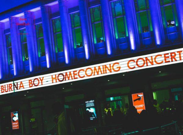 Burna Boy HomeComing Concert