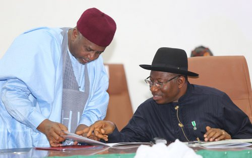 Col. Dasuki and Goodluck Jonathan