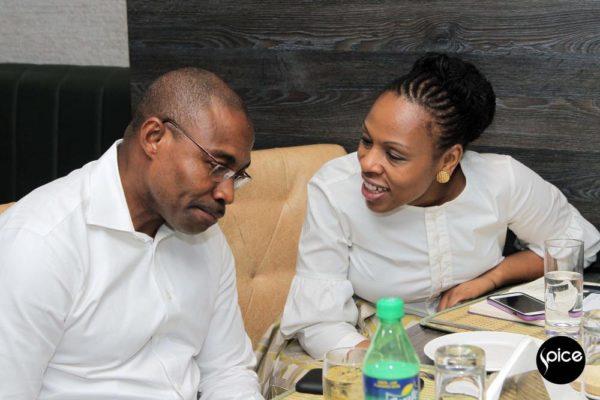 Dave Uduanu and Chinenye Nwanna
