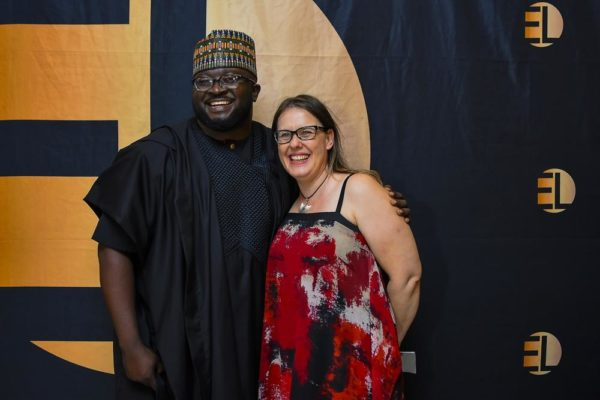 Dimbo Atiya & Heidi Uys