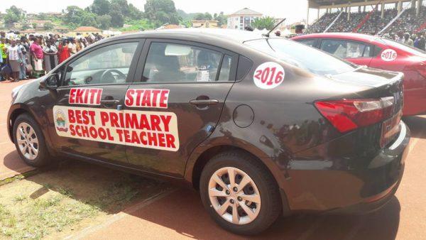 Ekiti Best Teachers' Cars1