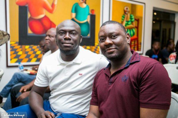 "Elnathan John, author of ""Born on a Tuesday"" with Othuke Ominiabohs"