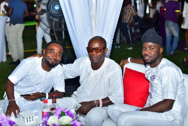 Emmanuel Enero, Funsho Arongundade and Michael Abimboye