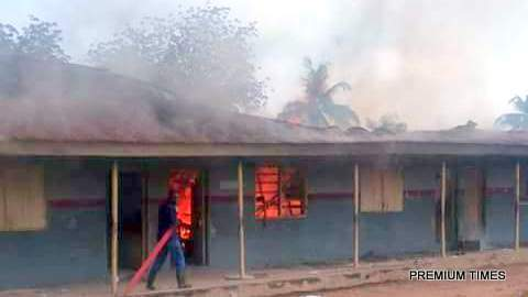 Oyo Secondary School Fire