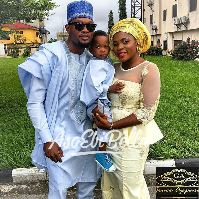 Family Agbada by @graceapparel16