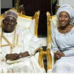 Fatima Buhari and Mallam Gimba Kumo