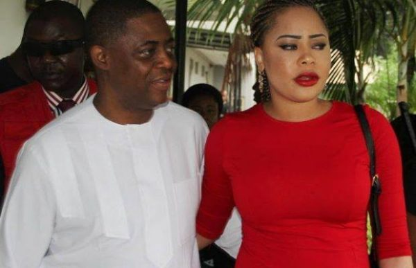 Fani Kayode and His Wife Sonia
