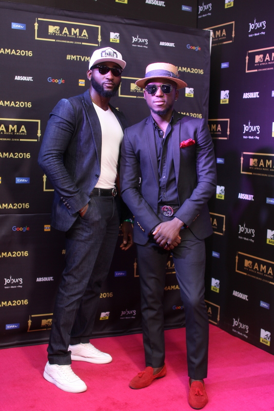 Gbenro Ajibade and DJ Spinall