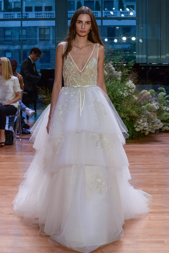 Monique Lhuillier - Runway - New York Fashion Week: Bridal October 2016