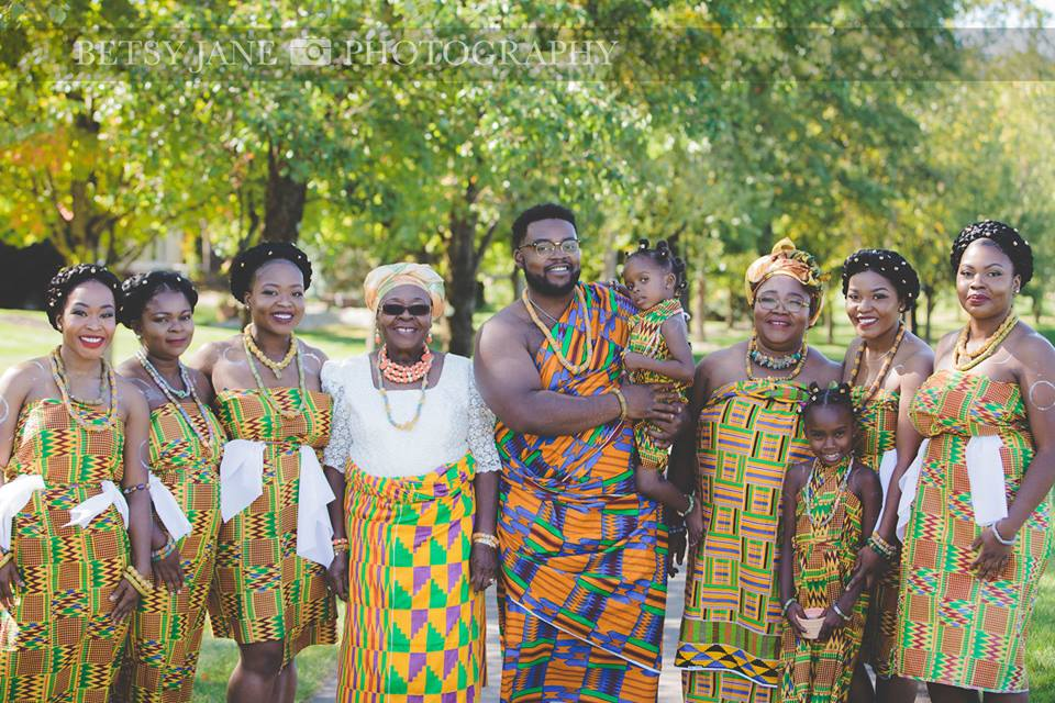 Ghanaian and Nigerian Family Photo Shoot_Kente_1