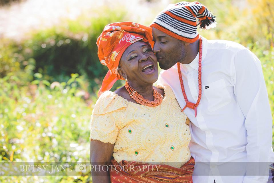 Ghanaian and Nigerian Family Photo Shoot_Kente_Grandson #1