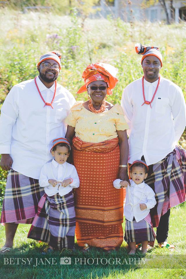 Ghanaian and Nigerian Family Photo Shoot_Kente_Just boys