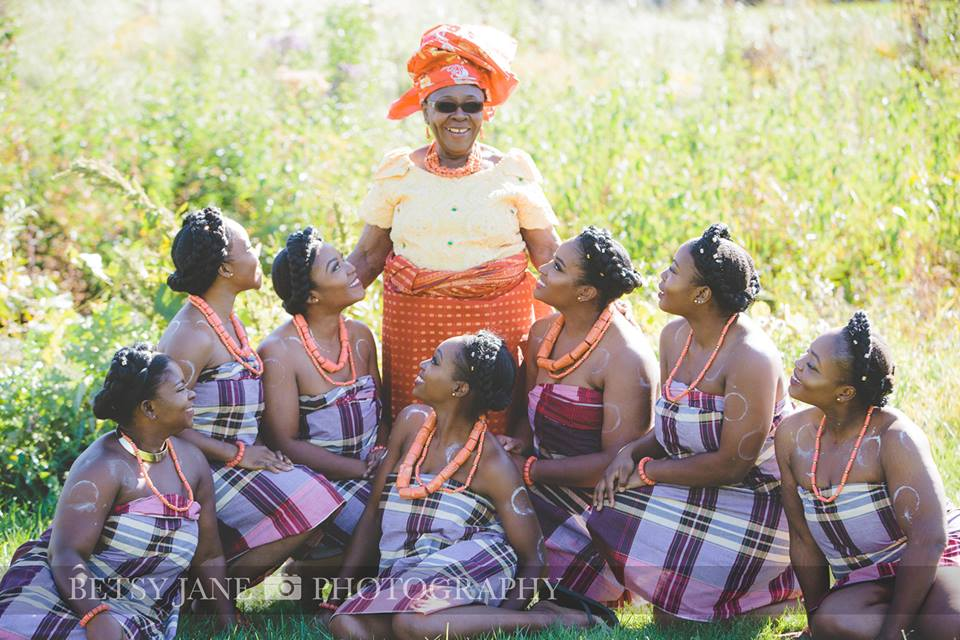 Ghanaian and Nigerian Family Photo Shoot_Kente_Just girls