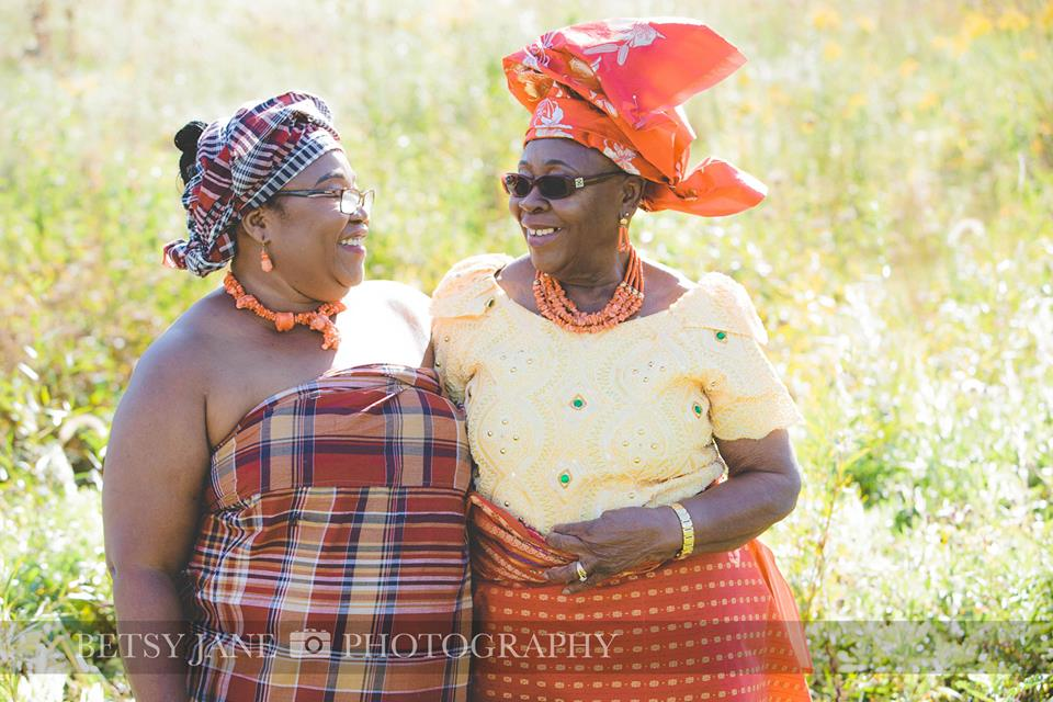 Ghanaian and Nigerian Family Photo Shoot_Kente_Mother and Daughter