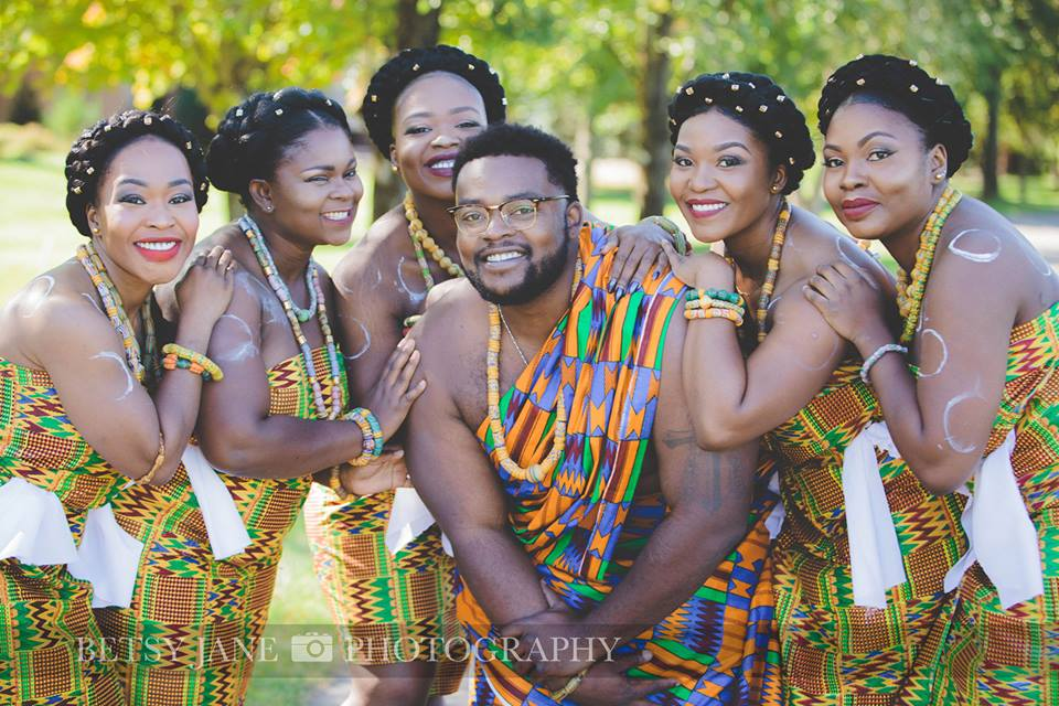 Ghanaian and Nigerian Family Photo Shoot_Kente_Siblings