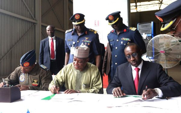 Handover of Two Aircrafts in Presidential Fleet to AirForce