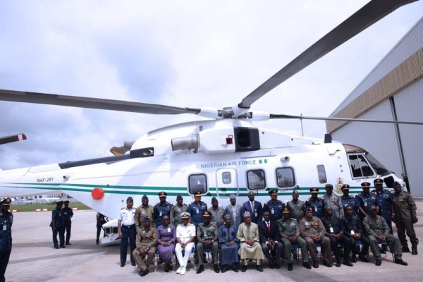 Handover of Two Aircrafts in Presidential Fleet to AirForce2