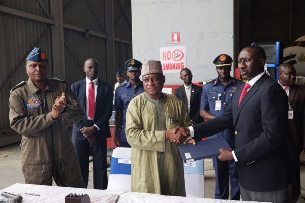 Handover of Two Aircrafts in Presidential Fleet to AirForce3