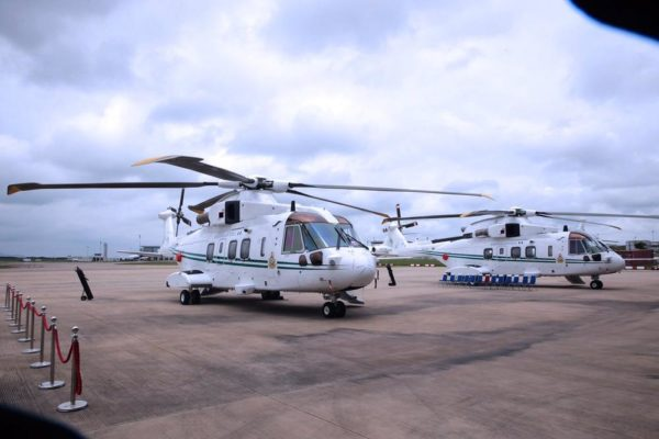 Handover of Two Aircrafts in Presidential Fleet to AirForce4
