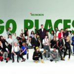 Heineken Go Places Banner