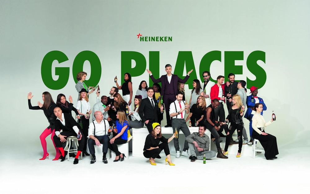 Heineken Go Places Banner