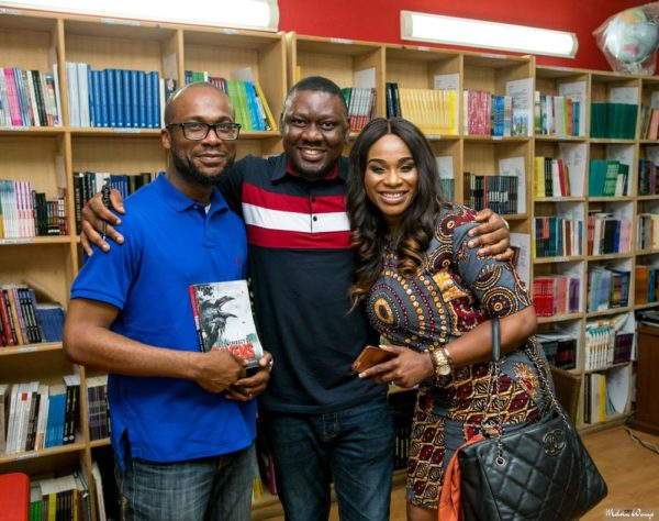 Henry Okelue and Tonya Lawani-Okojie with the author