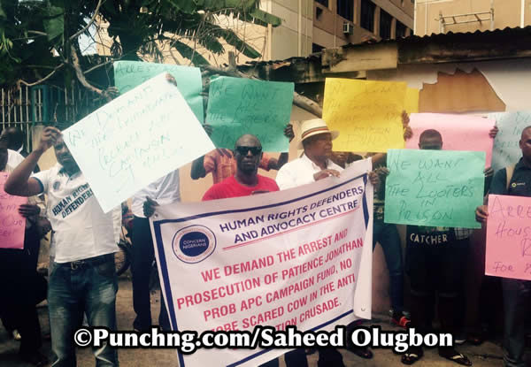 Human Rights Defenders and Advocacy Centre Protests