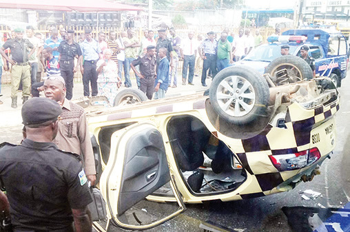 LASTMA-Hoodlums Violence in Costain