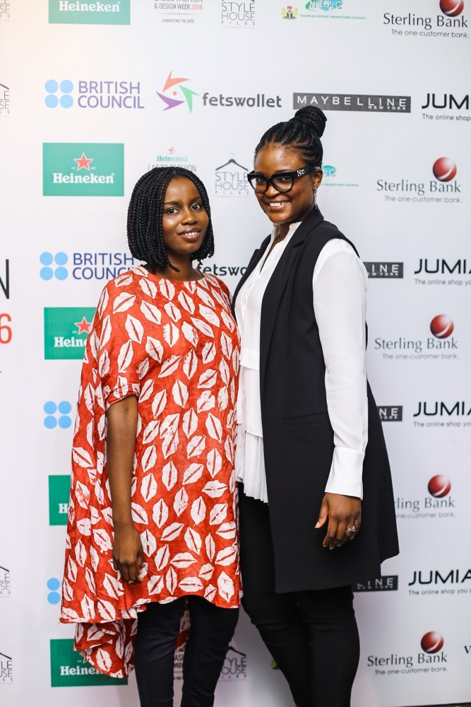 Cynthia Okochu and Londe Thompson (Project Manager, Fashion Focus)