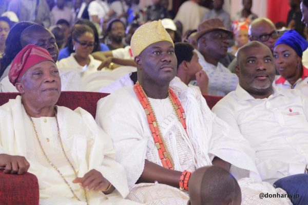 Sir Kessington Adebutu, Oni of Ife and Olusegun Adebutu