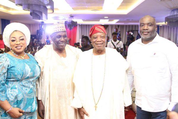 Senator Dr Grace Folashade Bent, Babagana Kingibe, Sir Kessington Adebutu, Olusegun Adebutu