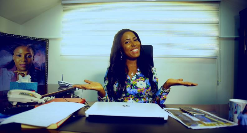 """You know me I like to Show off"" Linda Ikeji takes us on a Tour of Her Office & Studios + Gives Some Inspiring Words to Entrepreneurs"