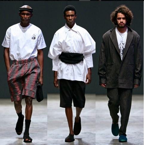 Maxivive Dry Harmattan Collection at SA Menswear Week.