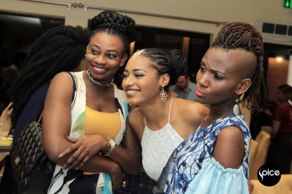 Mayreejay, Elma Godwin and Ayo Van Elma