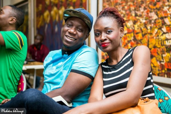 "Meka ""Mekadon"" Akerejola of Rhythm FM Abuja and a friend"