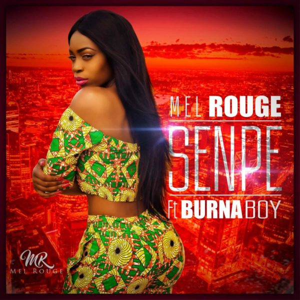 Mel Rouge Burna Boy Senpe Artwork