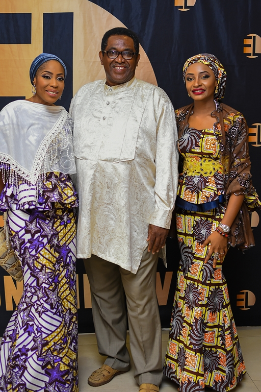 Mo Abudu, Patrick Doyle & Rahama Sadau