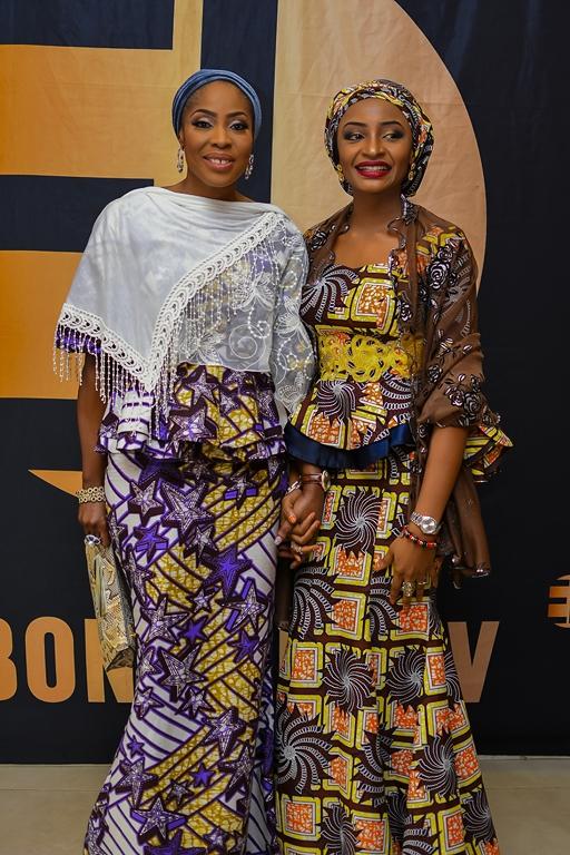 Mo Abudu & Rahama Sadau