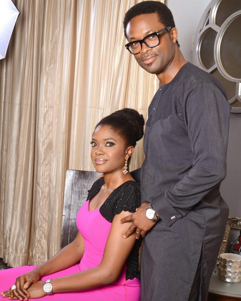 Omoni Oboli's husband, Nnamdi Oboli shares this prayers for couplers going through tough times