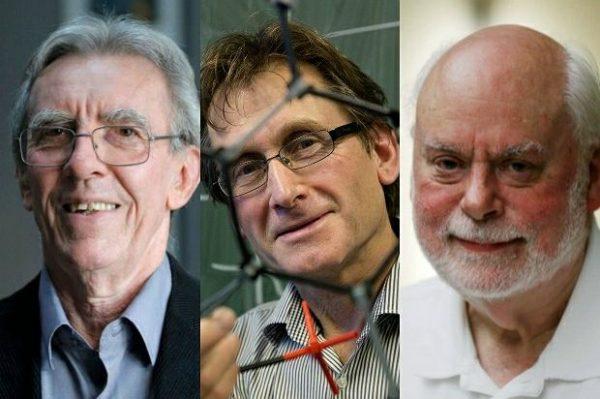 Jean-Pierre Sauvage, Bernard L. Feringa and Sir J. Fraser Stoddart