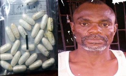 Passenger Heading to Madagascar Excretes 270g of Cocaine at Lagos Airport