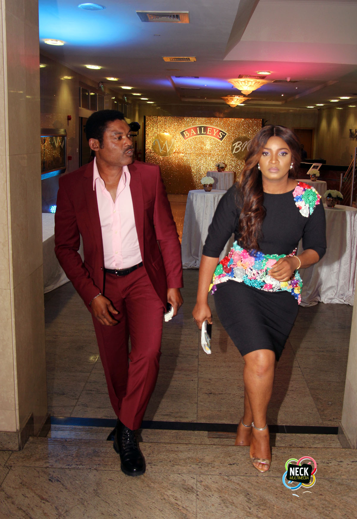 Omotola Jalade-Ekeinde and Captain Matthew Ekeinde at BBNWonderland 2016 1