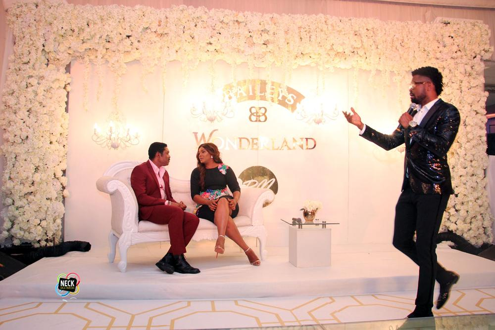 Omotola Jalade-Ekeinde and Captain Matthew Ekeinde at BBNWonderland 2016 3