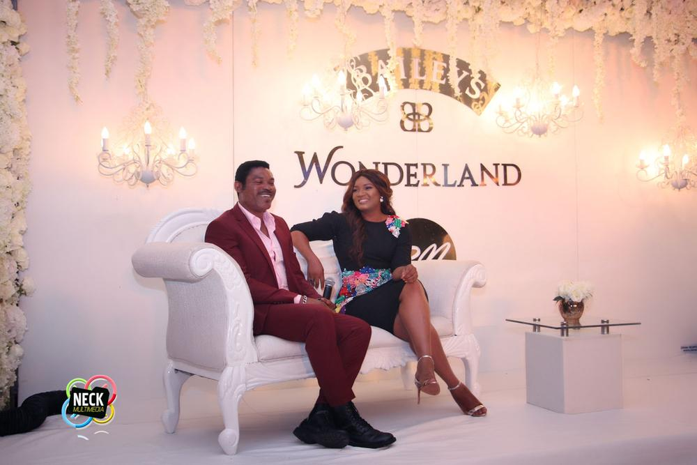 Omotola Jalade-Ekeinde and Captain Matthew Ekeinde at BBNWonderland 2016 7