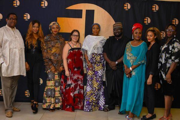 Patrick Doyle, Yvonne Hays, Rahama Sadau, Heidi Uys, Mo Abudu, Dimbo Atiya, Nita Byack George & Lydia Idakula