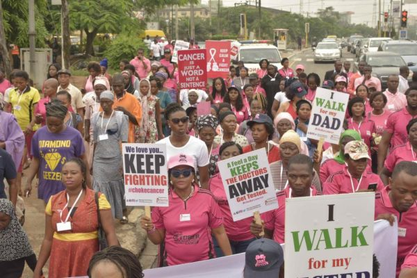 Pink October Walk, Race & Cycle against Cancer in Lagos organized by Project PINK BLUE_