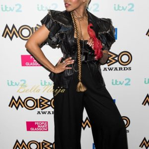 Temi Dollface attends the Pre-MOBO Awards Show at the Cadogan Hall on October 27, 2016 in London, England.
